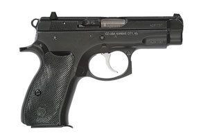CZ 75 Compact Black Polycoat 91190