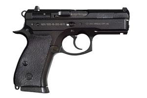 01199 CZ P-01 Black Polycoat Decocker