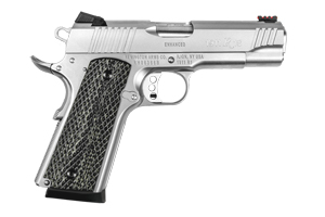Remington Pistol: Semi-Auto Remington R1-S Enhanced Commander Stainless - Click to see Larger Image