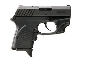 Remington RM380 Crimson Trace Double Action Only 380 Matte Black (Blackened Stainless Steel Slide)