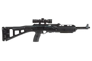 Hi-Point Firearms Carbine TS (Target Stock) with 4x Scope Semi-Automatic 9MM Black