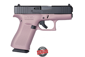 Apollo Custom|Glock Pistol: Semi-Auto 43X Pink Champagne Elite Black - Click to see Larger Image