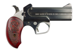 Bond Arms Snake Slayer IV Break Open 45LC|410 Gauge Stainless Steel
