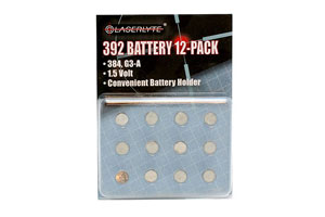 LaserLyte  Batteries 392 - Click to see Larger Image