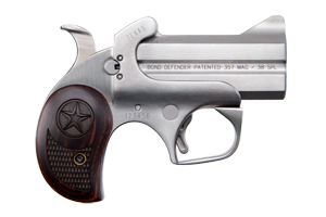 Bond Arms Texas Defender Break Open 357 Stainless Steel