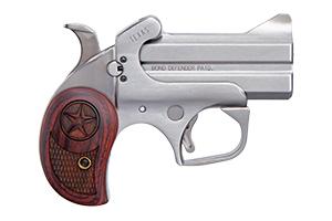 Bond Arms Texas Defender Break Open 45LC|410 Gauge Stainless Steel