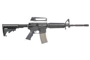 Bushmaster Rifle: Semi-Auto XM15 Patrolman Carbine - Click to see Larger Image