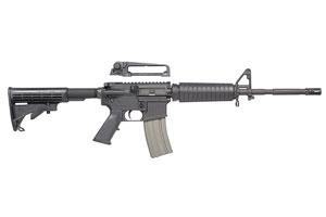 Bushmaster XM15 Patrolman Carbine Semi-Automatic 5.56 NATO|223 Black Matte