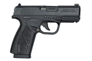 Bersa BP9CC Polymer Series Double Action 9MM Matte Black
