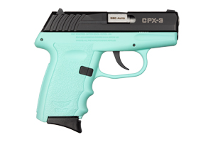 SCCY Industries Pistol: Semi-Auto CPX-3-CBSB - Click to see Larger Image