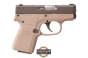 Kahr Arms CW380 Davidsons Exclusive Double Action Only 380 Patriot Brown Cerakote