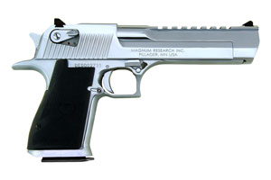 Magnum Research Desert Eagle Mark XIX Single Action 50AE Polished Chrome