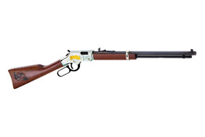 Henry Repeating Arms Golden Boy, American Farmers Tribute Edition Lever Action 22LR Blue Barrel, Nickel Plated Receiver