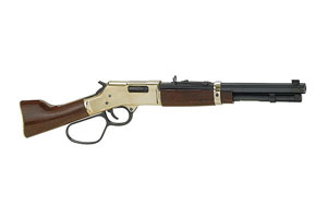 Henry Repeating Arms Big Boy Mare's Leg Lever Action 357 Blue Barrel, Hardened Brass Receiver