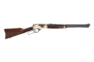Henry Repeating Arms Rifle: Lever Action Henry Lever Action Side Gate - Click to see Larger Image