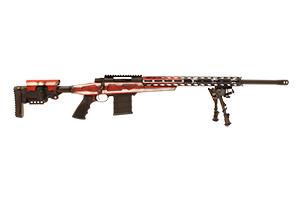 M1500 Bolt Action AB American Flag Rifle RWB HCRA72503USAAB