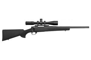 Legacy Sports Intl|Howa Rifle: Bolt Action M1500 Hogue Diamond Combo - Click to see Larger Image