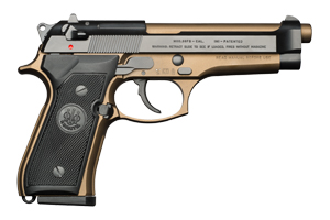 Beretta Pistol: Semi-Auto 92FS Burnt Bronze Italian - Click to see Larger Image