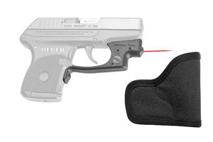 Crimson Trace  Ruger LCP Laserguard with Grovtec Holster - Click to see Larger Image