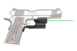 Crimson Trace 1911 Green Laserguard (No Rail Necessary)