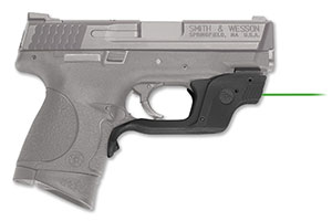 Crimson Trace  Smith & Wesson Shield Laserguard Green - Click to see Larger Image