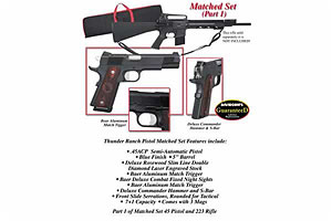 LBP/MTP Thunder Ranch Pistol Matched Set