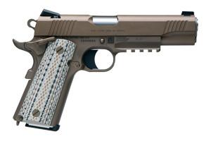 Colt Pistol: Semi-Auto Marine Production Model Pistol Rail Gun - Click to see Larger Image