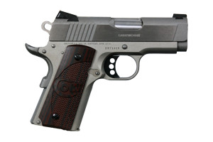 Colt Defender SS Single Action 45AP Brushed Stainless Steel