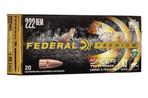 P222D Federal Ammunition