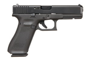 Glock Gen 5 17 Safe Action 9MM Matte Black nDLC