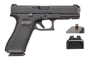 Glock Pistol: Semi-Auto Gen 5 17 - Click to see Larger Image