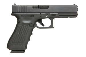 Glock Gen 4 17 Modular Optic System Safe Action 9MM Black Matte