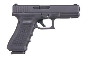 Glock Gen 4 17 Safe Action 9MM Black Matte