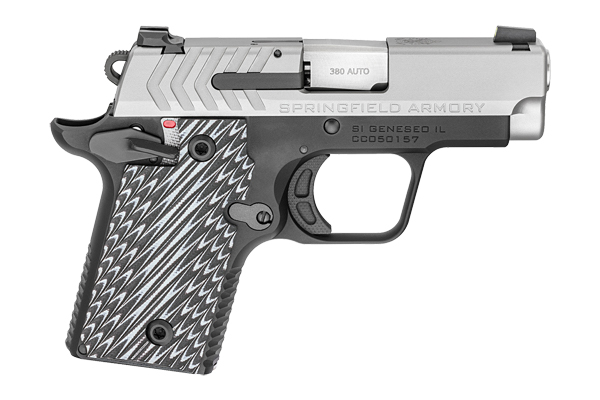 Springfield Armory 911 Single Action 380 Black Melonite Frame & Stainless Slide
