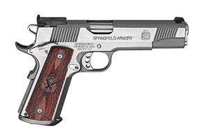 Springfield Armory Semi-Automatic Pistol 1911 Loaded Trophy Match w/ 11 Gear System - Click to see Larger Image