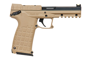 Kel-Tec PMR-30 Single Action 22M Blue Slide, Tan Cerakote Frame