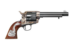 Cimarron Man with No Name Single Action Frontier Single Action 45LC Blue