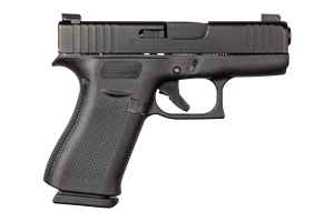 Glock Pistol: Semi-Auto 43X - Click to see Larger Image