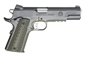 Springfield Armory Pistol: Semi-Auto 1911 Loaded MC Operator - Click to see Larger Image
