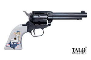 Heritage Manufacturing Inc Revolver: Single Action Rough Rider PIN Up TALO Edition - Click to see Larger Image