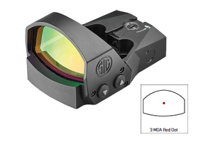 Sig Sauer Romeo 1 PRO 3 MOA Red Dot Minature Reflex Sight SOR1P100