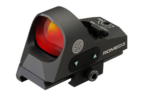SOR31002 Romeo 3 3 MOA Red Dot Minature With Riser