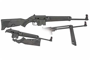 Kel-Tec Rifle: Semi-Auto SU-16A Sport Utility Rifle - Click to see Larger Image