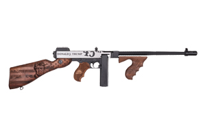 Kahr Arms|Thompson Rifle: Semi-Auto Thompson 1927 Trump 45 Commemorative Thompson - Click to see Larger Image