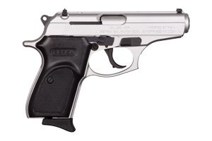 Bersa Pistol: Semi-Auto Thunder 380 Nickel - Click to see Larger Image