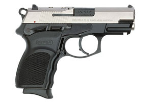 Bersa Thunder 40SW Ultra Compact Pro Series Double Action 40SW Two-Tone Brushed Chrome Frame
