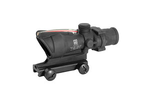 Trijicon  ACOG 4x32mm Scope with Red Chevron 223 Reticle - Click to see Larger Image
