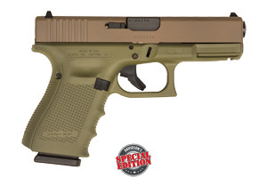 Glock Pistol: Semi-Auto Gen 4 19 USA (Davidson's Special Edition) - Click to see Larger Image