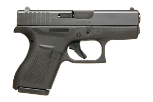 Glock Pistol: Semi-Auto 42 - Click to see Larger Image