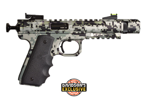 Volquartsen Firearms Pistol: Semi-Auto Scorpion Urban Camo - Click to see Larger Image